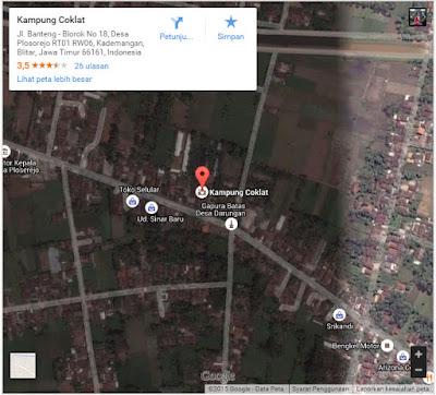 Peta Wisata Kuliner Olahan Coklat di Kampung Coklat Blitar