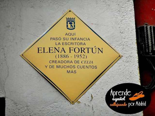 aquí pasó su infancia Elena Fortún