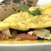 Receita de Omelete Vegano de Tofu e Grão de Bico