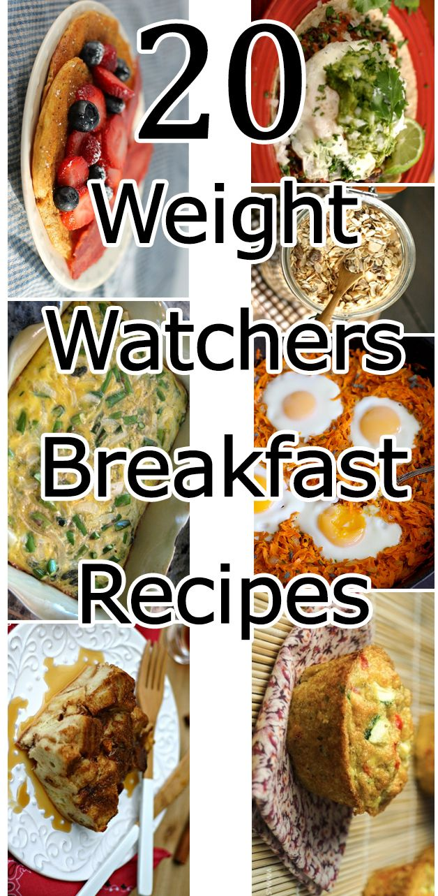 20 Weight Watchers Breakfast Recipes