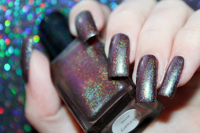 "Swatch of the nail polish ""February 2013"" from Enchanted Polish"