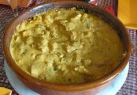 Poulet beurre noix de cajou et épices indiennes