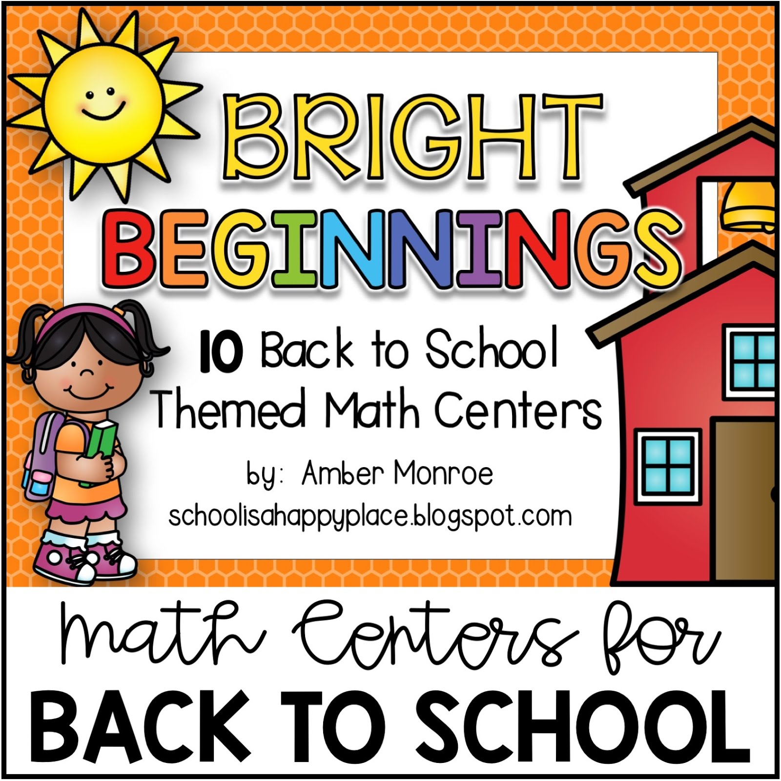 Math Centers for the Beginning of the Year