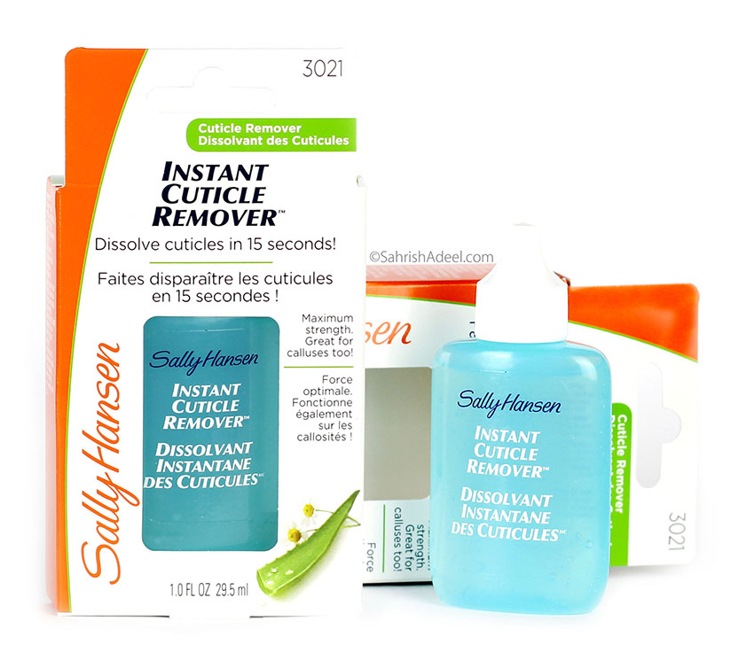 Instant Cuticle Remover by Sally Hansen - Review & Step by Step Guide