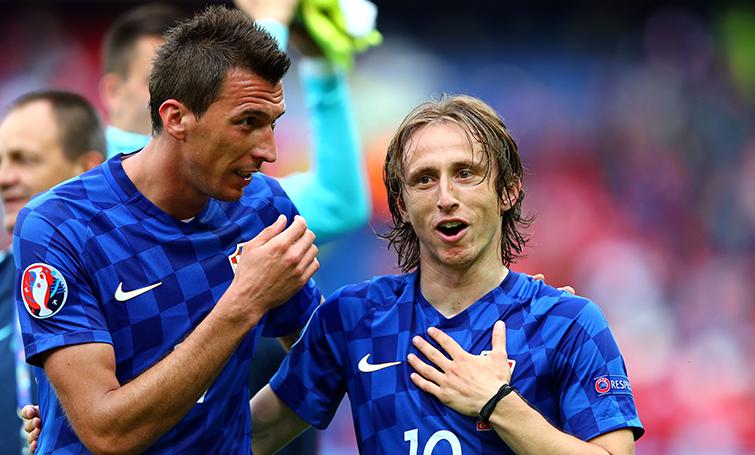Luca Modric se perderá el partido contra España