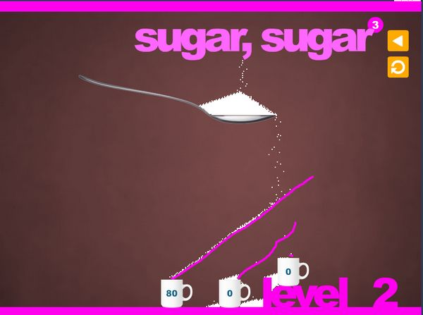 Sugar, Sugar - Δωρεάν τριλογία παιχνιδιών λογικής που θα το ευχαριστηθείς