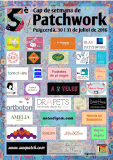 Participantes feria de patchwork Puigcerda 2016