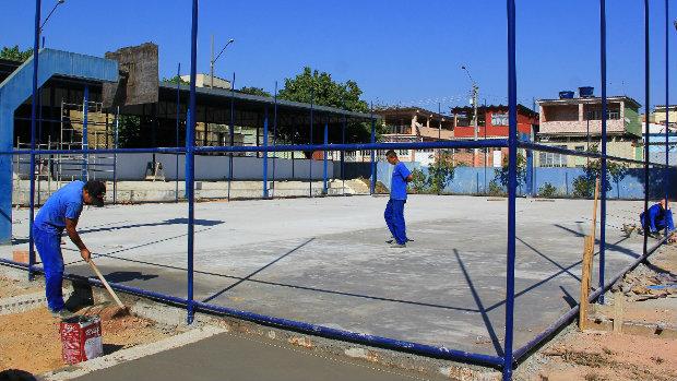 Prefeitura de Belford Roxo inicia reforma na Vila Olímpica