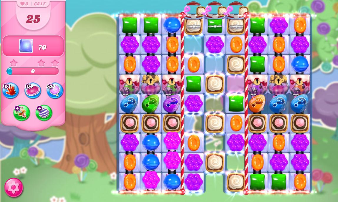 Candy Crush Saga level 6317