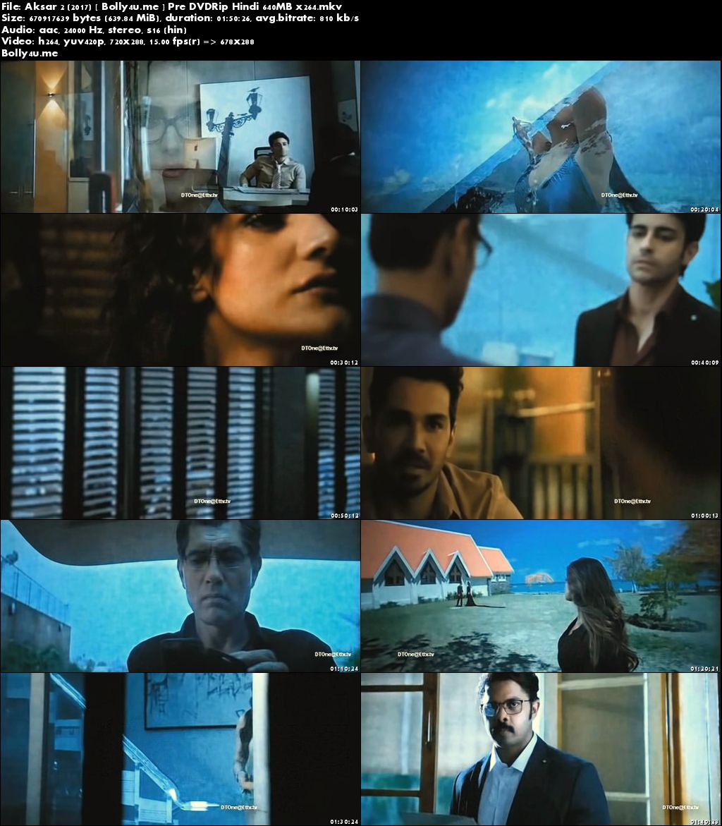 Aksar 2 2017 Pre DVDRip 650MB Full Hindi Movie Download Hd x264