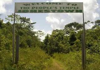 Ingresso Jonestown
