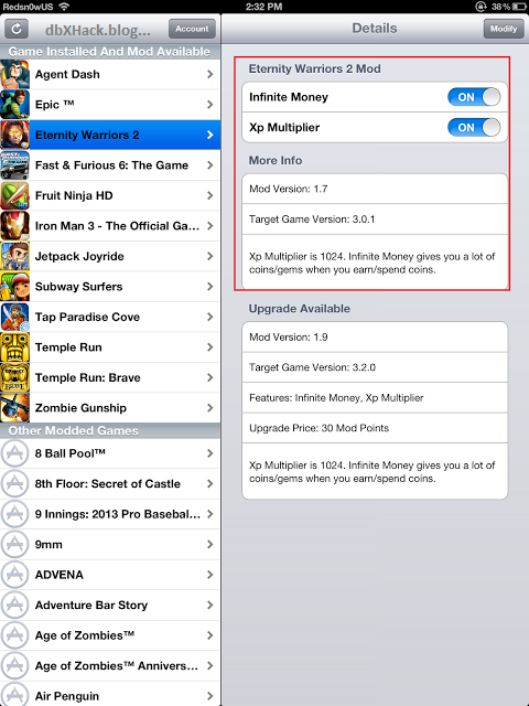 dbXHach: dbXHack Its The Best Hack For Existing Games
