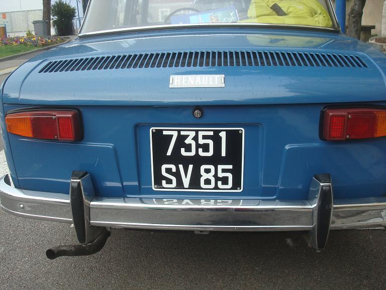 Balades En Vendee Voitures Anciennes 15 La Renault 8 Major