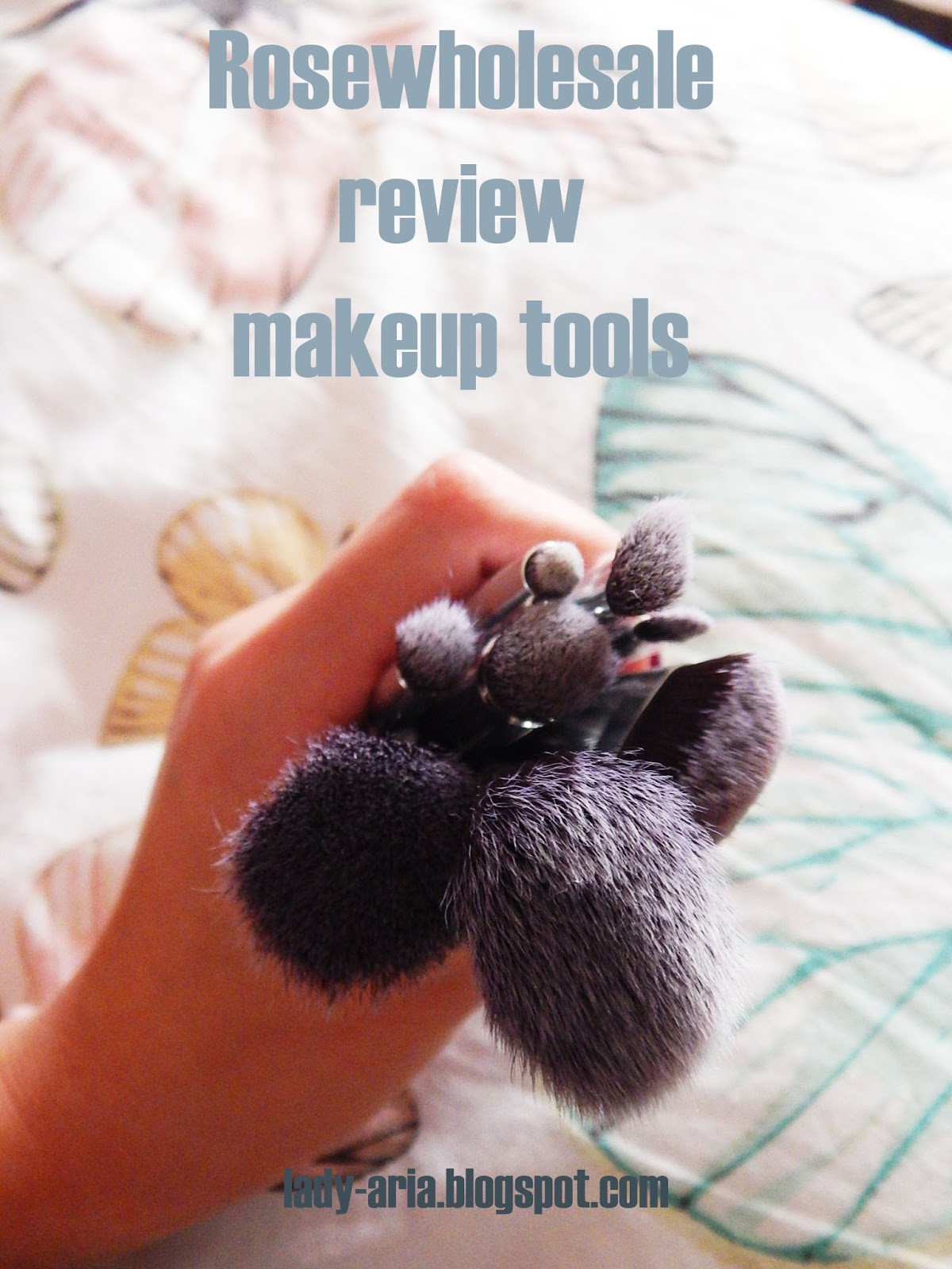 ROSEWHOLESALE Review - makeup accesories!