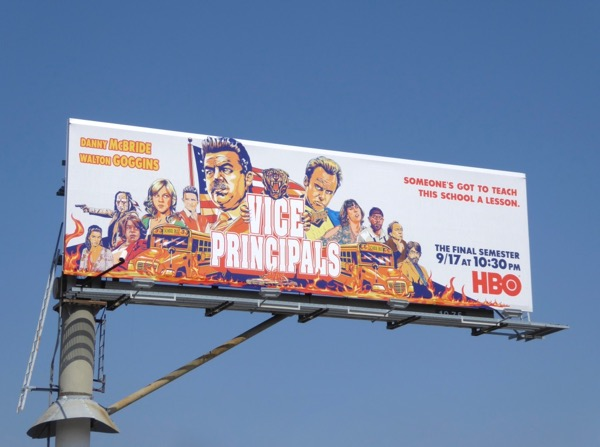 Vice Principals final season 2 billboard