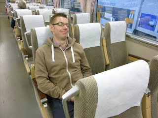 I was tuckered out as there was so much to see I had to have a nap on a bullet train
