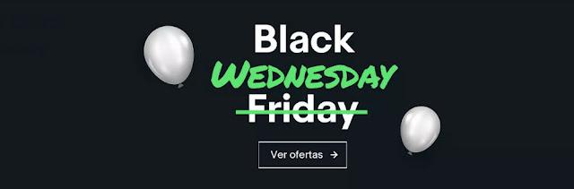 Mejores ofertas Black Wednesday de eBay.es