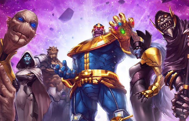 Children of Thanos, dari Black Order sampai Nebula wallpaper