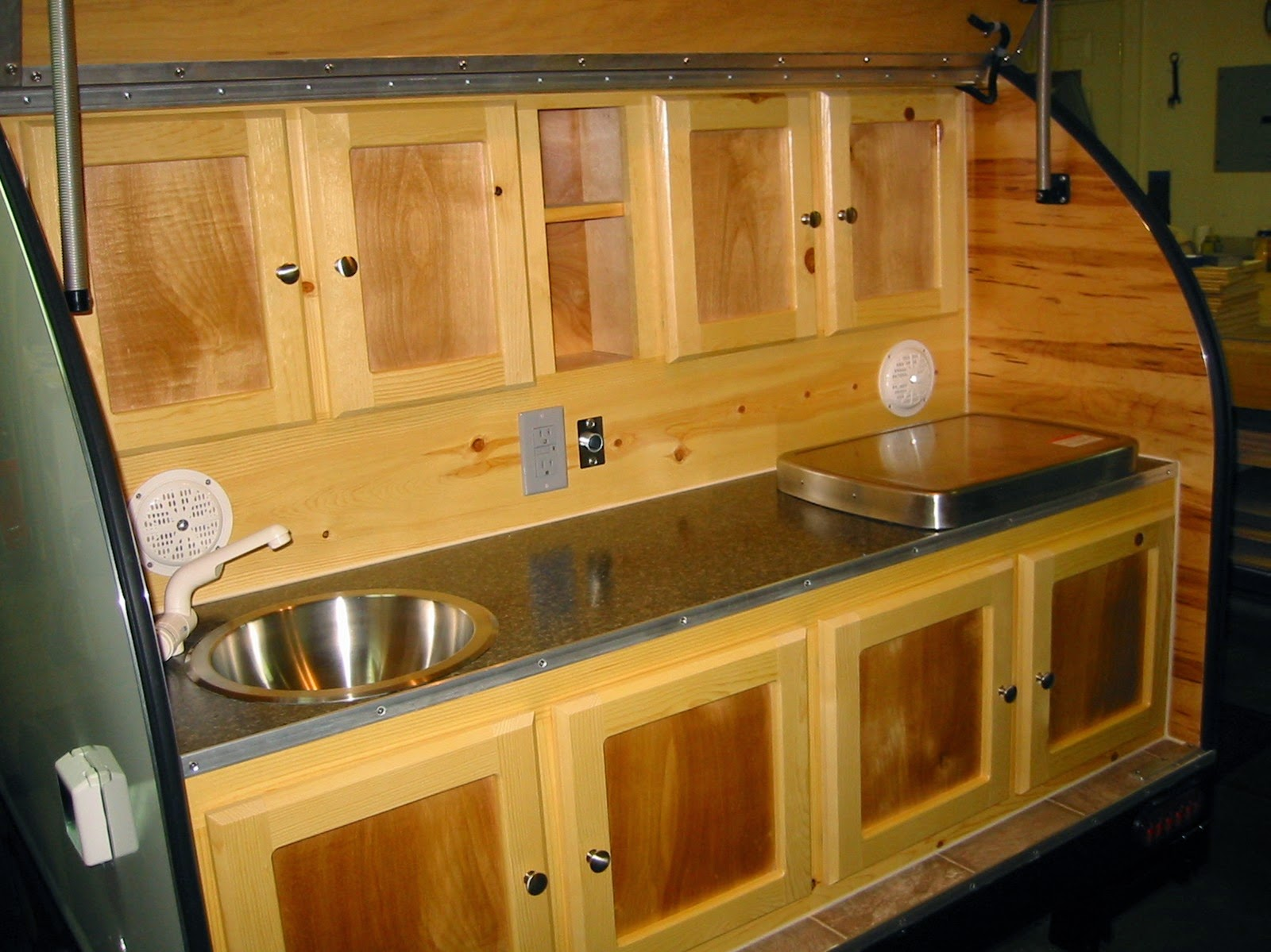 Teardrop Trailer Galley Designs