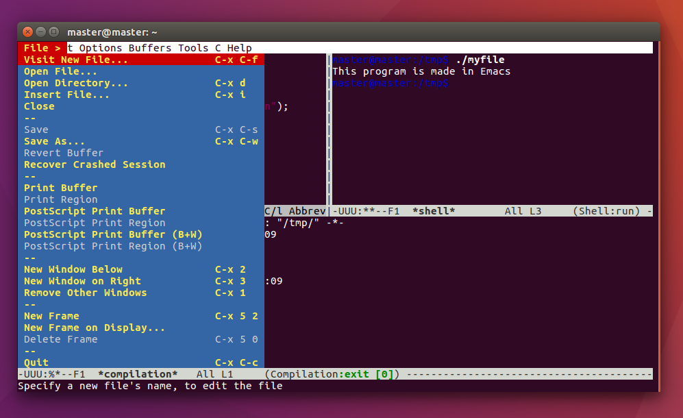 Introducing GNU Emacs for Complete Beginners in Ubuntu