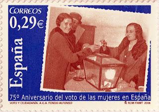 75 ANIVERSARIO DEL VOTO DE LAS MUJERES EN ESPAÑA
