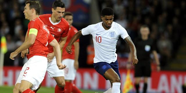 Rashford Bawa Inggris Tumbangkan Swiss
