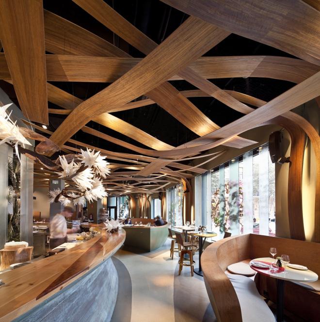 Restaurante ikabana el equipo creativo arquitectura y - Paginas de arquitectura y diseno ...