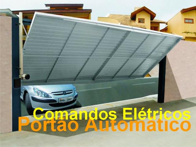 Comandos Elétricos Portão Automático