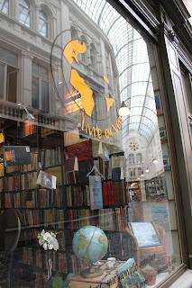 café littéraire passage de la bourse