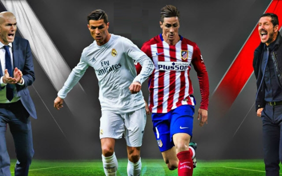 Real Madrid and Atletico lock horns for the final time this season in the Champions League final.
