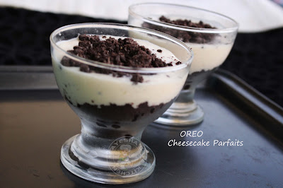 a no bake oreo dessert recipes with cheesecake batter yummy dessert for any occasions quick and simple oreo recipes no bake oreo cheesecake parfait ayeshas kitchen tasty dessert