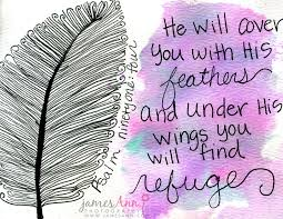 Psalm 91:4 - He shall cover you with his feathers, and under his wings shall you trust: his truth shall be your shield and buckler.