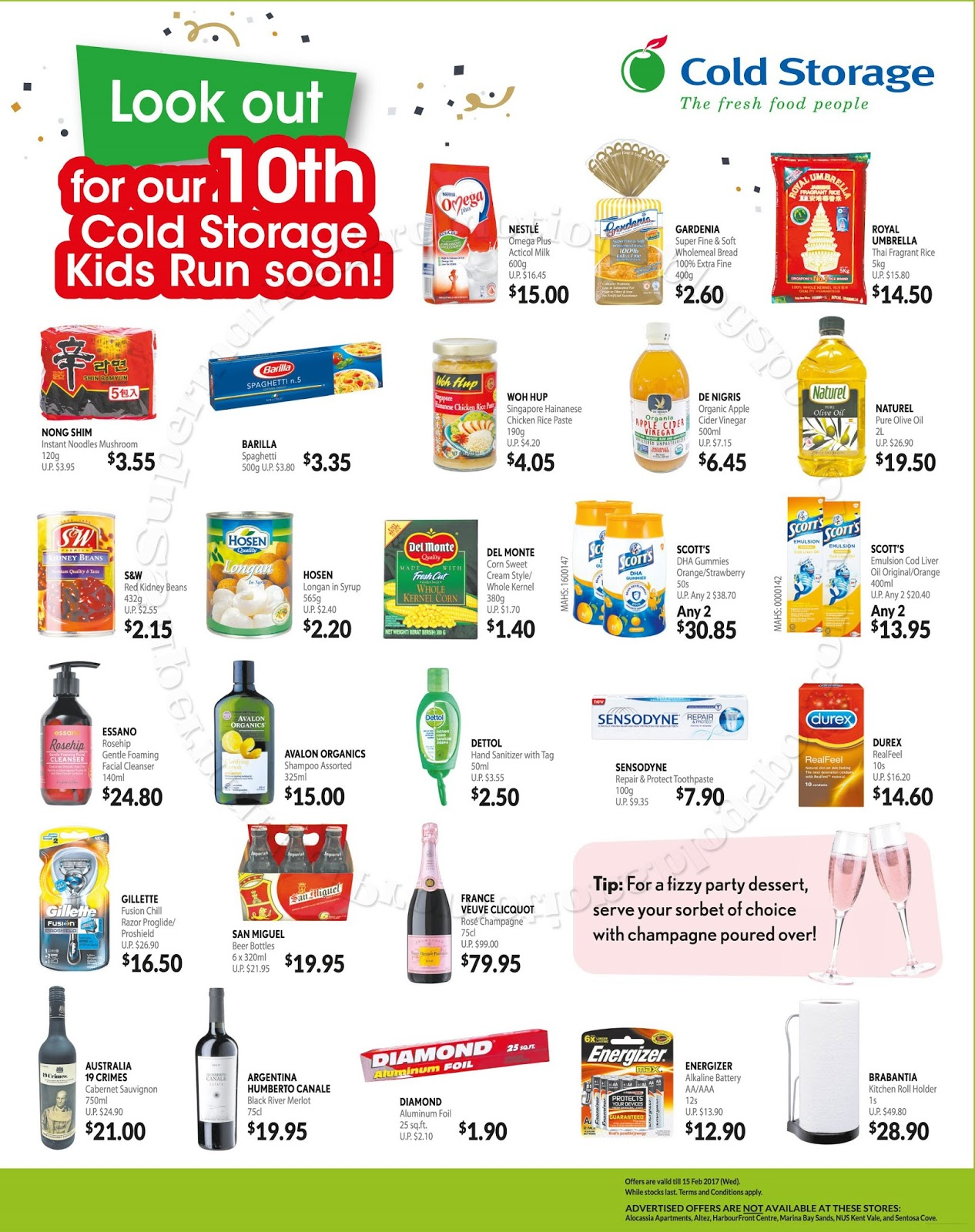 Nong Shim instant noodles mushroom Barilla spaghetti Del Monte corn sweet cream style/ whole kernel Essano rosehip gentle foaming facial cleanser ...  sc 1 st  Supermarket Promotions & Cold Storage My Favourite Brands Till 15 February 2017 | Supermarket ...