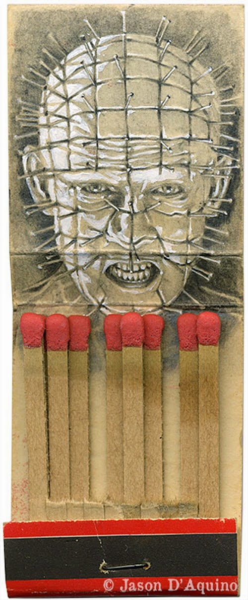 09-Pinhead-Jason-D-Aquino-Vintage-Matchbook-Drawings-www-designstack-co