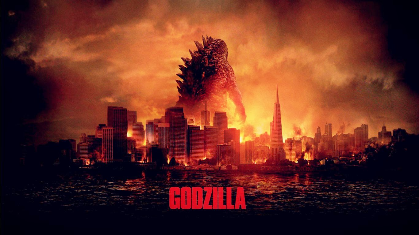 MOVIE / FILM REVIEW: Godzilla (2014) Bryan Cranston, Aaron-Taylor Johnson