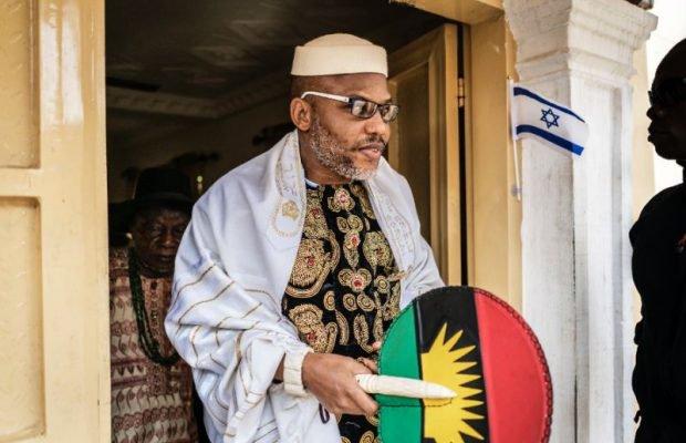 VIDEO: 'Bayelsa is part of Biafra not South-South' - Nnamdi Kanu