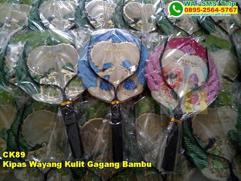 Toko Kipas Wayang Kulit Gagang Bambu
