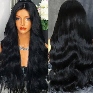 BAISI Top Quality Body Wave Wig With Preplucked Natural Hairline 150% Density