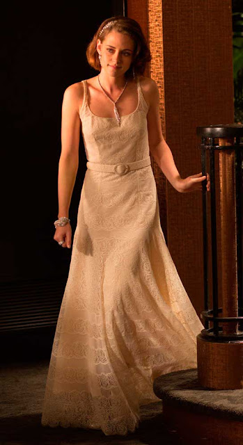 Café Society vestido festa anos 30, figurino filme Kristen