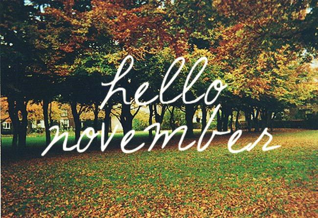 Everyday A: Hello November