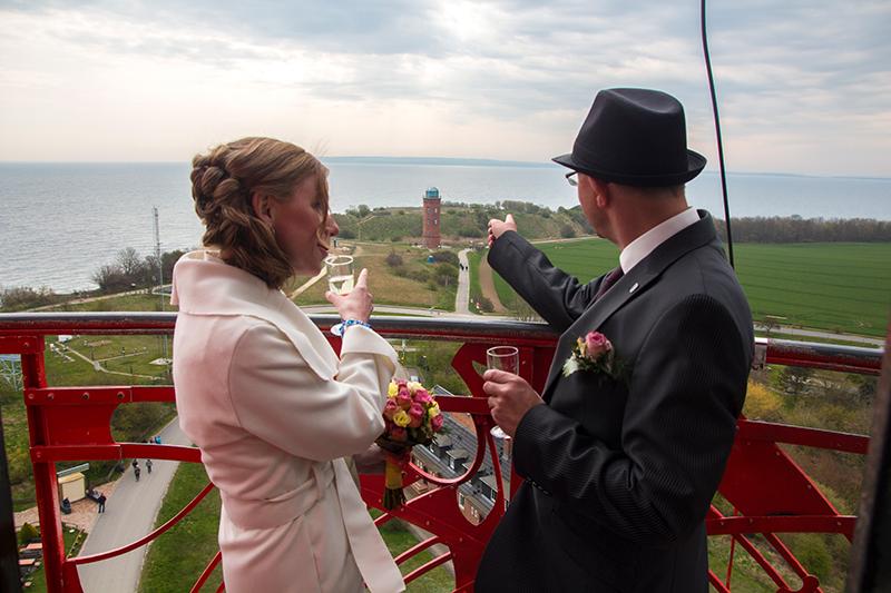 Hochzeitsfotograf Leuchtturm Kap Arkona
