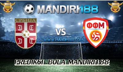 AGEN BOLA - Prediksi Serbia U21 vs FYR Macedonia U21 20 Juni 2017