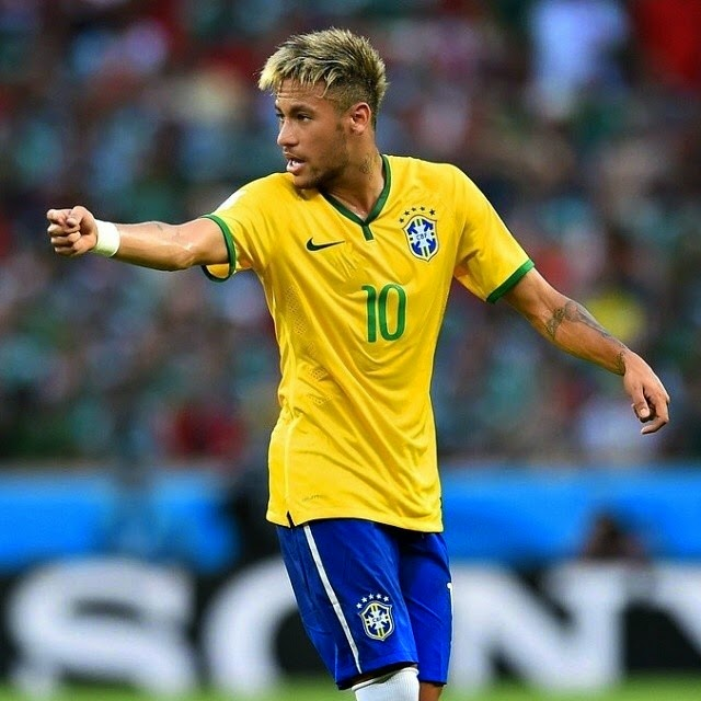 Neymar JR in World Cup Brazil 2014 ~ Fc Barcelona Photo Neymar Jr Brazil 2014