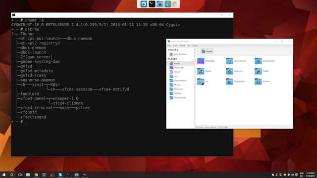 XFCE Ubuntu on Windows
