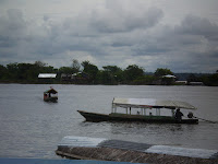 Boats in the Amazon