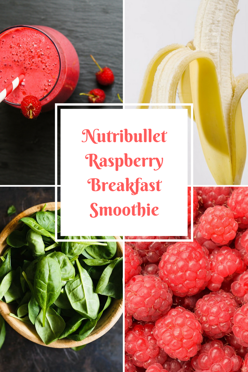 Nutribullet Raspberry Breakfast Smoothie