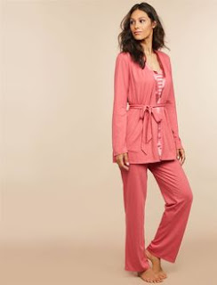 3 Piece Nursing Pajama Set