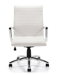 White Boardroom Chair