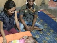 Suami - Istri di Ponorogo Ini Mengaku Sedih, Bayi Mereka Divonis Bertahan Hidup hanya 7 Tahun karena Penyakit ini