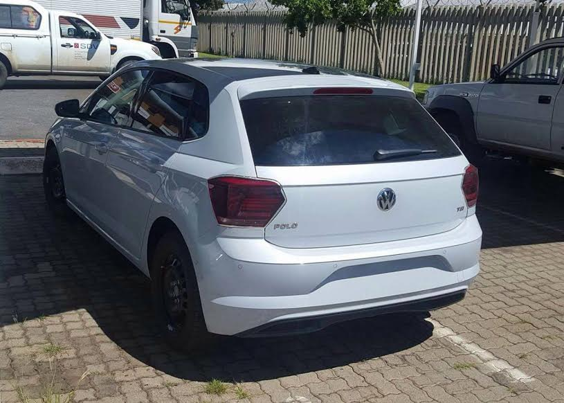 new 2018 vw polo set to enter production next month carscoops. Black Bedroom Furniture Sets. Home Design Ideas